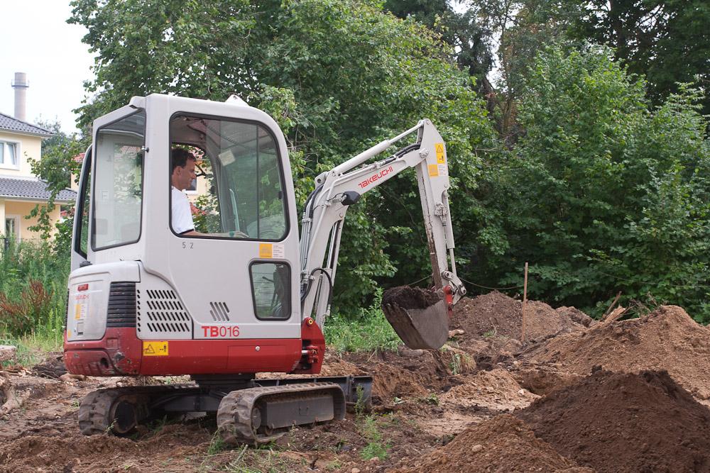 Bevorzugt Regenwasserrohre verlegt | Baublog zum neuen Haus in Dresden-Leuben ZN03