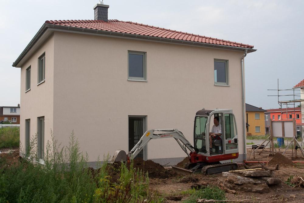 Fabulous Regenwasserrohre verlegt | Baublog zum neuen Haus in Dresden-Leuben TP38