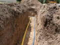Gas- und Trinkwasserleitung
