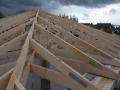 montierter Dachstuhl